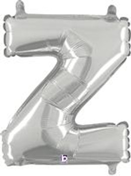 """14""""B Silver Z (1 count)"""