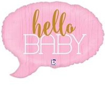 "34""B Hello Baby Pink (1 count)"