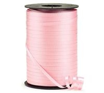 "3/16"" Curling Ribbon Pink, Light ( Passion )"