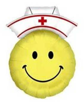 "28""B Nurse Smile Face (1 count)"