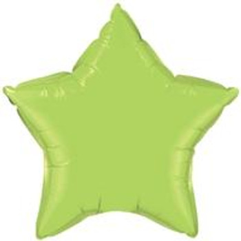 "19""A Star, Lime Green(10 count)"