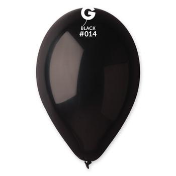 "12""G Black #014 (50 count)"