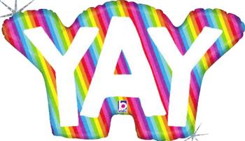 "34""B Rainbow Yay (1 count)"