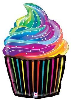 "27""B Rainbow Cupcake(1 count)"