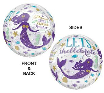 "16""A Mermaid Wishes Orbz (1 count)"