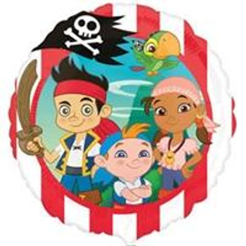 "18"" Jake & The Never Land Pirates (10 count)"