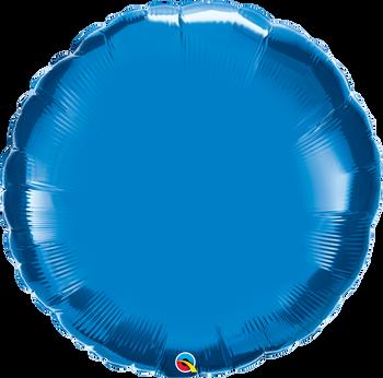 """36""""Q Circle Sapphire Blue (5 count)"""