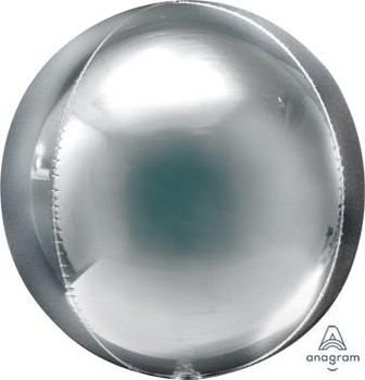 """21""""A Orbz Silver Jumbo (3 count)"""