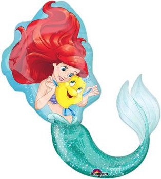 "34""A The Little Mermaid, Ariel Dream Big (5 count)"