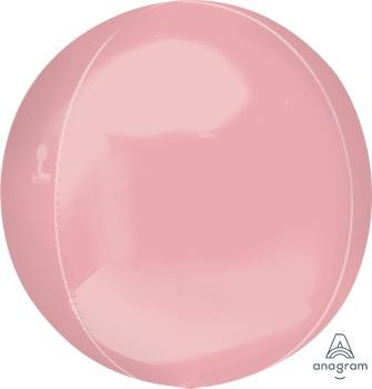 """16""""A Orbz, Pastel Pink (3 count)"""