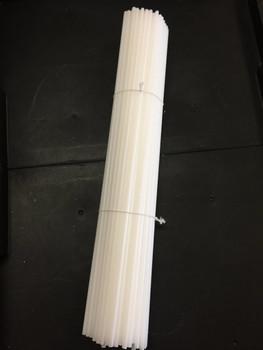 "24"" Sticks Straw White (100 count)*"