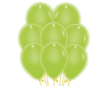 "11""B Deluxe Key Lime (100 count)"