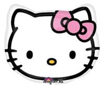 "18""A Hello Kitty, Head (5 count)"