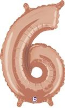"""14""""B Rose Gold 6 (1 count)"""