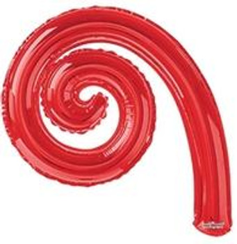 "14""K Kurly, Spiral Red(10 count)"