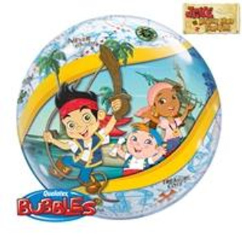 "22""Q Bubble, Jake and The Never Land Pirates"