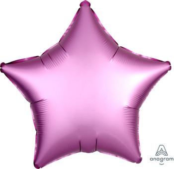 "19""A Star, Satin Luxe Flamingo(10 count)"