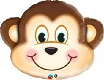 "14""Q Monkey, Mischievous Head (10 count)"