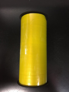 "3/16"" Curling Ribbon Neon Yellow(1 count)"