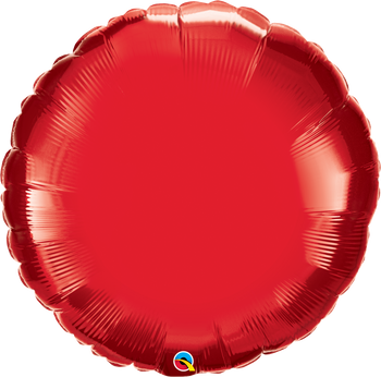 "36""Q Circle Ruby Red (5 count)"