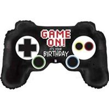 """36""""B Game Controller, Happy Birthday (1 count)"""