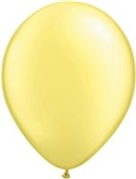"5""Q Pearl Lemon Chiffon (100 count)"