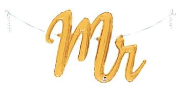 "39""B Script Mr. Gold (1 count)"