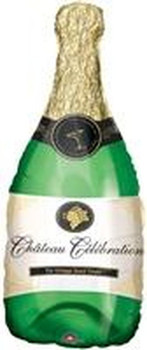 "14""A Champagne Bottle (10 count)"
