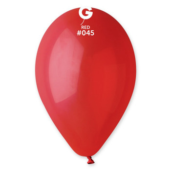 "12""G Red #045 (50 count)"