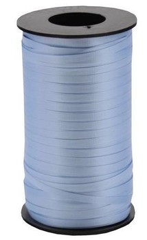 "3/16"" Curling Ribbon Blue, Light ( Pale )"
