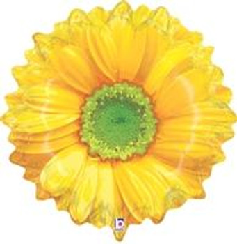 """24""""B Flower Bloom Yellow (1 count)"""