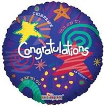 "18"" Congratulations, Festive"