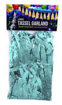 "Tassel Large, 12"" Light Blue(1 count)"