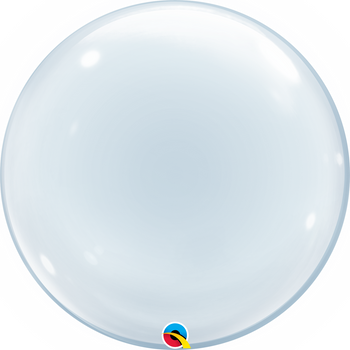 "24""Q Deco Bubble Clear (1 count)"