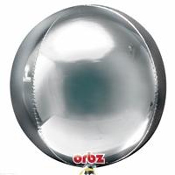 "16""A Orbz, Silver (3 count)"