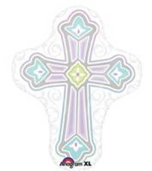 """28""""A Cross, Religious(5 count)"""