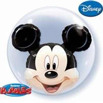 "24""Q Bubble Double, Mickey Mouse(1 count)"