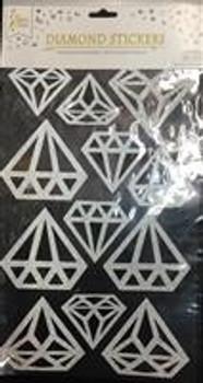 Stickers, Diamond Silver(1 count)