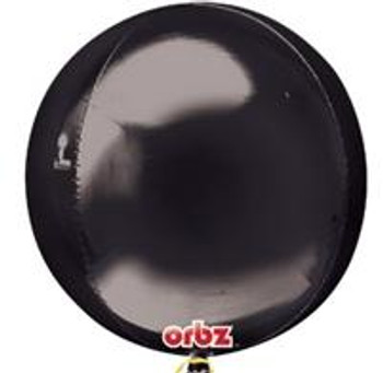 "16""A Orbz, Black (3 count)"