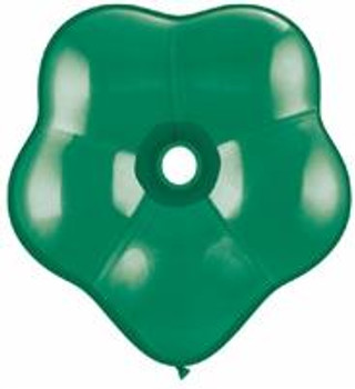 "6""Q Geo Blossom Emerald Green (50 count)"