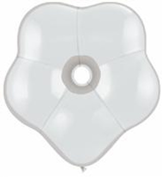 "6""Q Geo Blossom Diamond Clear (50 count)"