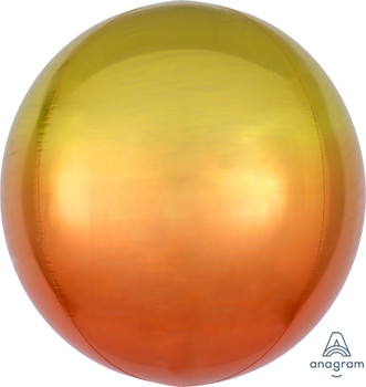 "16""A Orbz Ombre Yellow & Orange (3 count)"