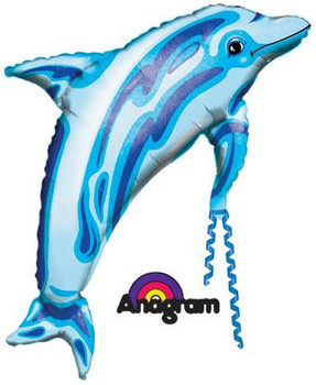 """37""""A Dolphin Blue(5 count)"""
