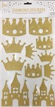 Stickers, Castle Gold(1 count)