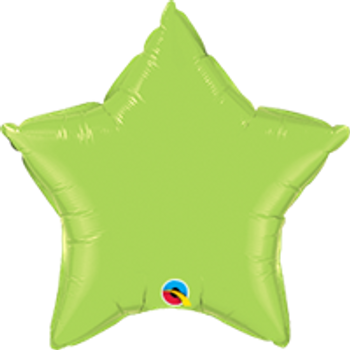 "4""Q Star Lime Green (10 count)"