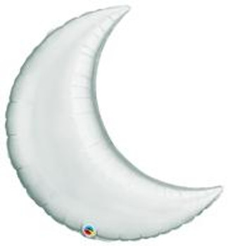 "9""Q Crescent Moon, Silver (10 count)"