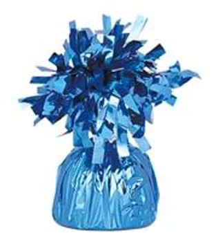 Balloon Weight Small, Blue Peacock (12 count)*