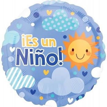 """18""""A Es Un Nino, Cloudy Sky"""