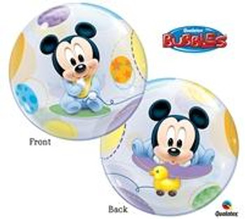 "22""Q Bubble, Mickey Mouse Baby(1 count)"