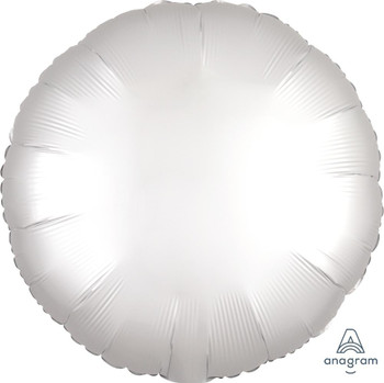 "18""A Circle, Satin Luxe White (10 count)"